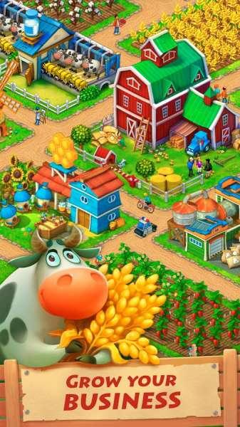 دانلود Township 8.6.1   بازی شبیه ساز مزرعه ناحیه شهری مخصوص اندروید + مود