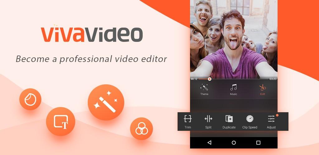 دانلود VivaVideo Pro: Video Editor 7.14.0 برنامه فیلمبراری و ویرایش فیلم اندروید