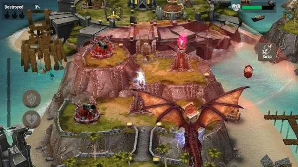 دانلود War Dragons 5.31gn بازی زیبای جنگ اژدها اندروید