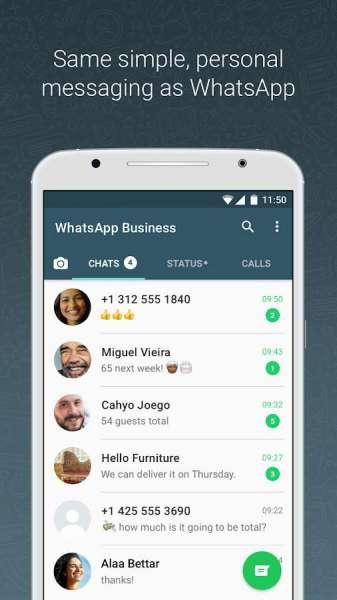 دانلود WhatsApp Business 2.20.207.4 برنامه واتس آپ بیزنس مخصوص اندروید + بتا