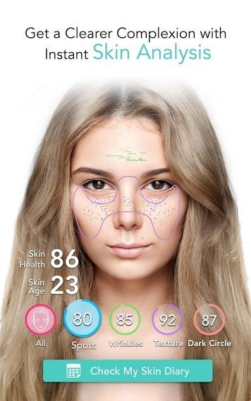دانلود YouCam Makeup 5.51.0 نرم افزار سالن آرایش مجازی برای اندروید