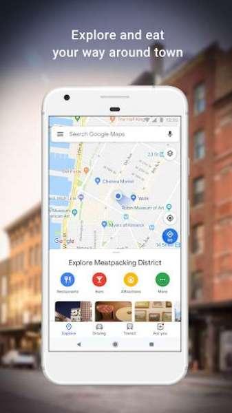 دانلود Google Maps 10.68.2 برنامه رسمی گوگل مپ