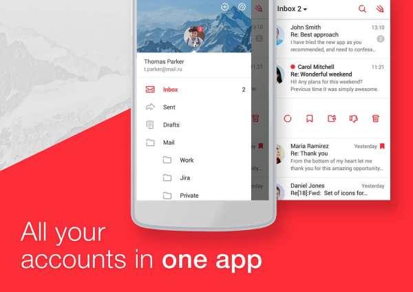 دانلود myMail 13.12.0.33176 قوی ترین برنامه مدیریت ایمیل برای اندروید