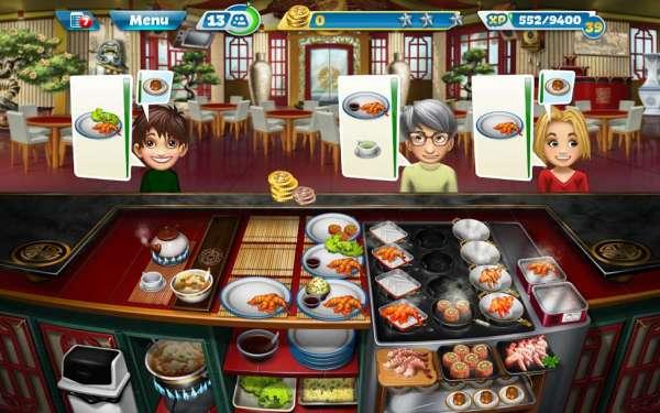 دانلود Cooking Fever 8.1.0 بازی اندروید تب آشپزی + مود
