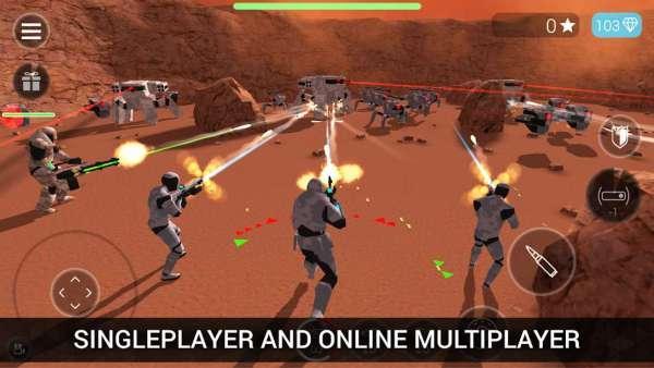 دانلود CyberSphere Online 2.54.0 بازی اکشن نبرد فضایی اندروید + مود