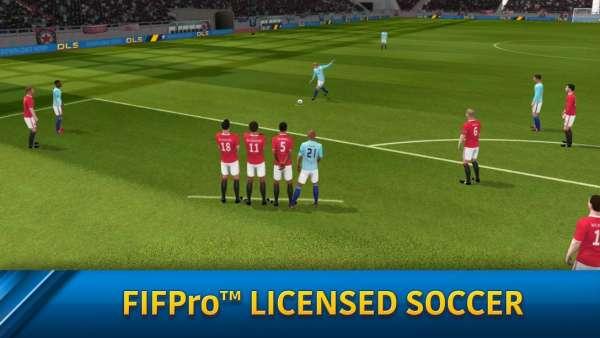 دانلود Dream League Soccer 2019 6.13 بازی رویای لیگ فوتبال 2019 اندروید + مود + دیتا
