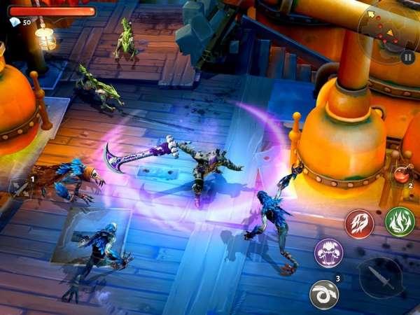 دانلود Dungeon Hunter 5 5.9.0h بازی اندروید شکارچی سیاه چال 5 + دیتا