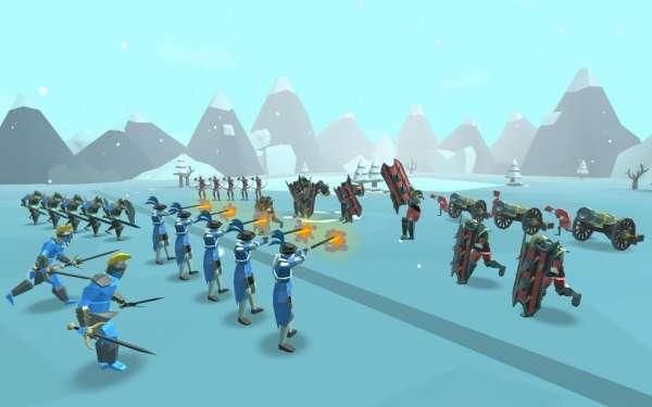 دانلود Epic Battle Simulator 2 1.5.45 بازی اندروید شبیه ساز نبرد 2 + مود