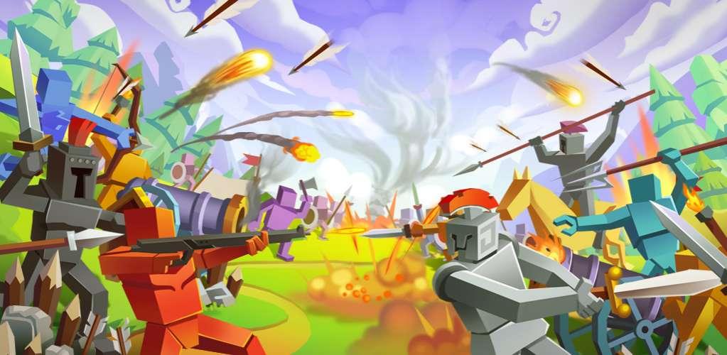 دانلود Epic Battle Simulator 2 1.4.40 بازی اندروید شبیه ساز نبرد 2 + مود