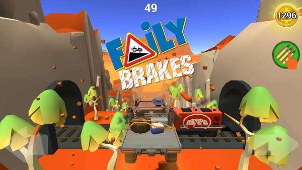 دانلود Faily Brakes 27.7 بازی آرکید ترمز از کار افتاده اندروید + مود