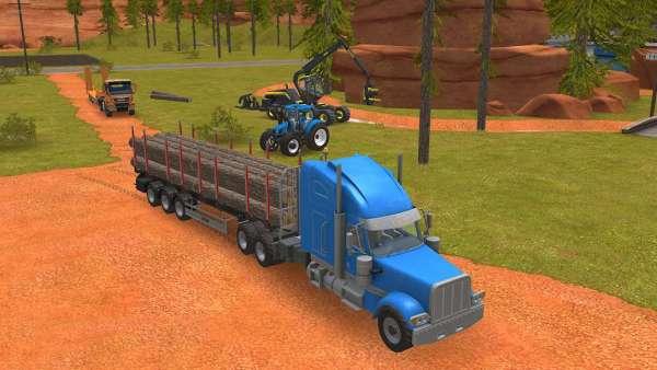 دانلود Farming Simulator 18 1.4.0.6 بازی شبیه ساز کشاورزی اندروید