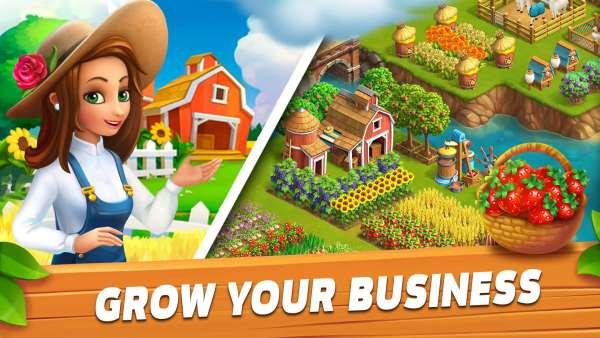 دانلود Funky Bay – Farm & Adventure game 39.1.59 بازی شبیه سازی مزرعه دار ساحلی اندروید + مود