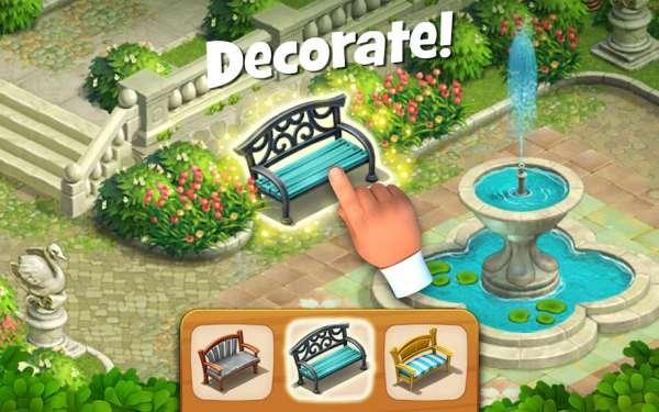 دانلود Gardenscapes – New Acres 5.6.0 بازی جورچین باغداری برای اندروید + مود