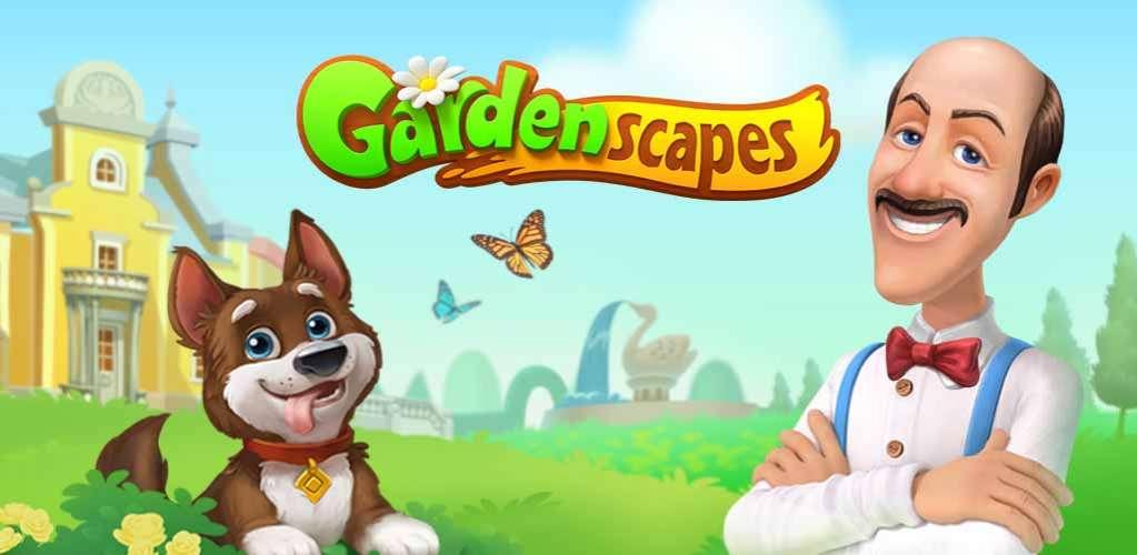 دانلود Gardenscapes – New Acres 3.5.0 بازی جورچین باغداری برای اندروید + مود