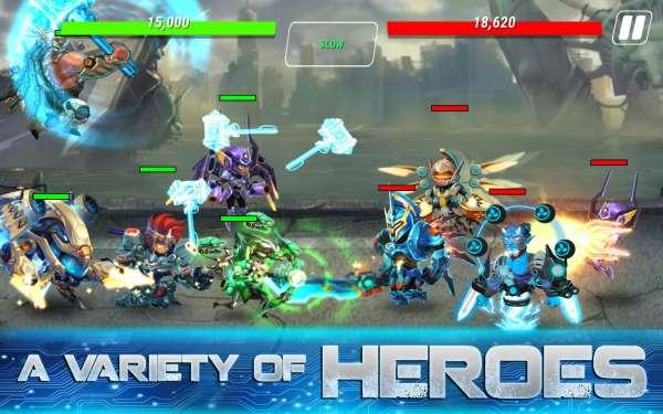 دانلود Heroes Infinity: God Warriors 1.33.9L بازی قهرمانان ابدی اندروید + مود