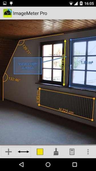 دانلود ImageMeter Pro – photo measure 3.5.10 برنامه اندازه گیری ابعاد اندروید