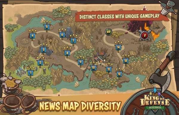 دانلود King of Defense The Last Defender 1.5.9 بازی دفاع پادشاهی_آخرین مدافع اندروید + مود