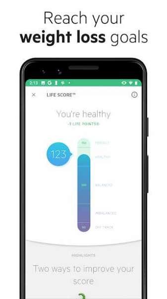 دانلود Lifesum Premium 9.4.0 برنامه رژیم غذایی اندروید