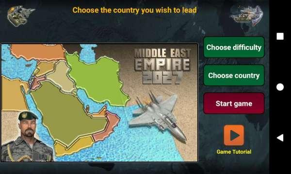 دانلود Middle East Empire 2027 3.4.9 بازی امپراطوری شرق میانه اندروید + مود