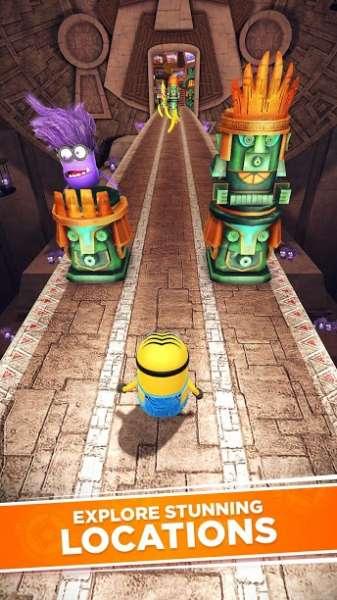 دانلود Minion Rush: Despicable Me Official Game 8.0.2f بازی مینیون ها برای اندروید