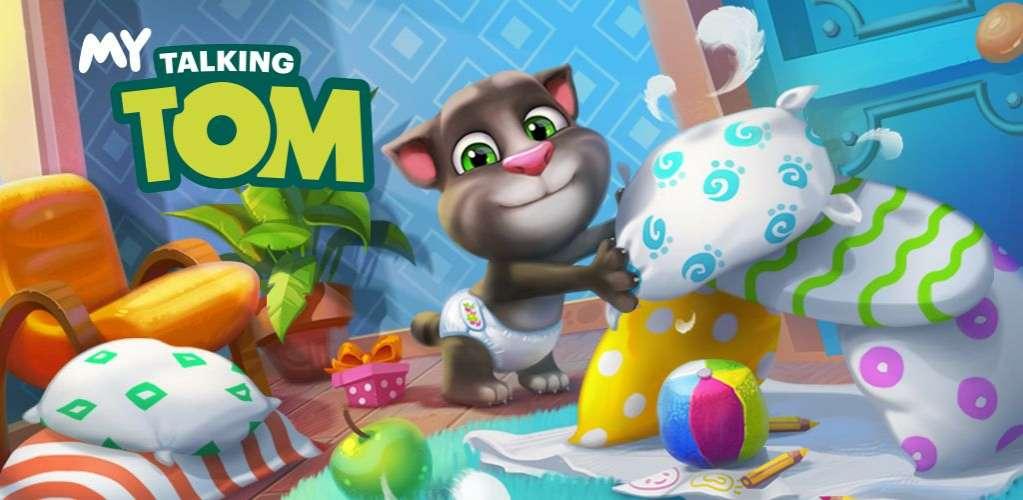 دانلود My Talking Tom 5.7.1.522 بازی بسیار جذاب تام گربه سخنگوی من