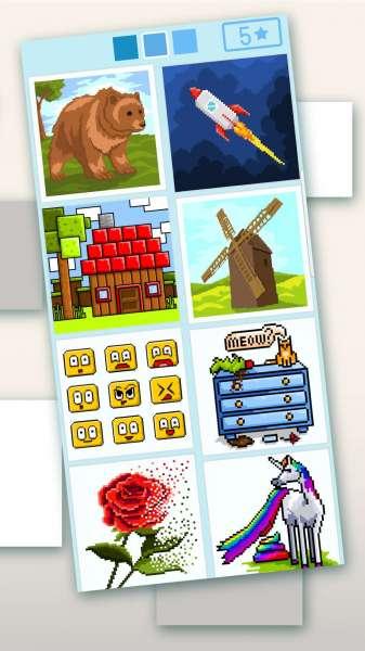 دانلود Pixyfy: pixel art colouring by number, tap colour 2021.08.17 بازی پر طرفدار و محبوب هنر پیکسلی رنگ های اندروید + مود