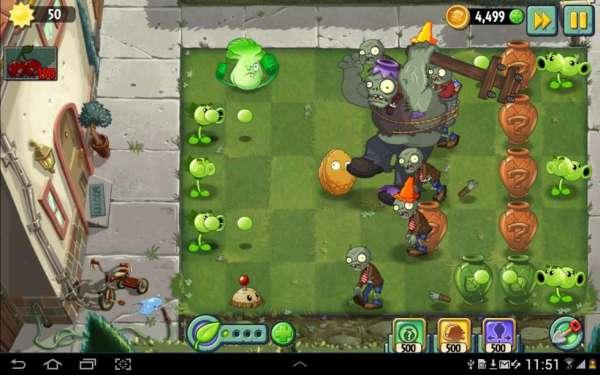 دانلود 2 Plants vs. Zombies 7.9.3 بازی اندروید زامبی ها و گیاهان 2 + مود + دیتا