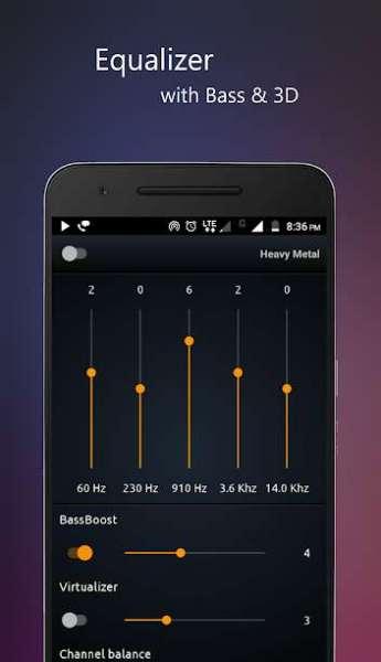 دانلود PowerAudio Pro music player 9.1.9 موزیک پلیر قدرتمند اندروید