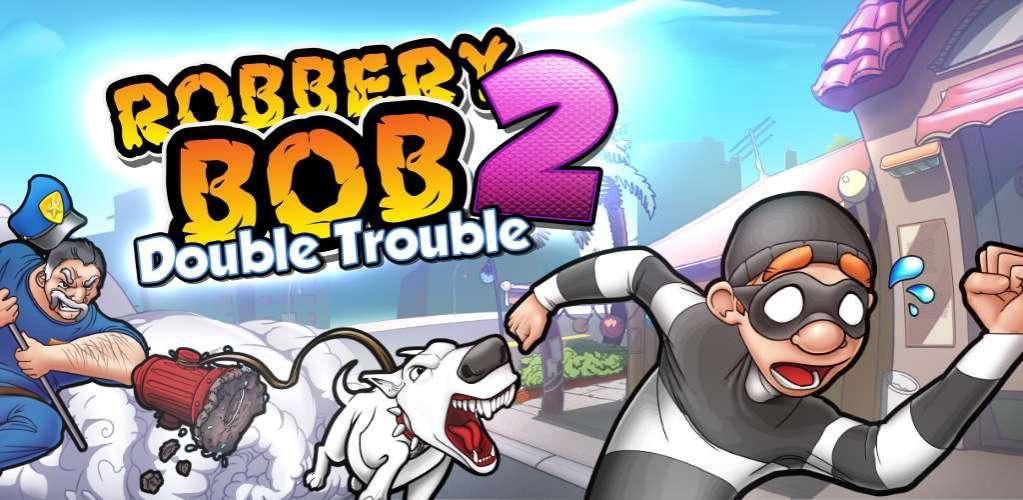دانلود Robbery Bob 2: Double Trouble 1.6.8.5 بازی باب سارق 2 : دردسر مضاعف اندروید