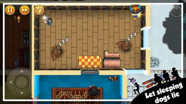 دانلود Robbery Bob 1.20.0 بازی باب سارق اندروید + مود