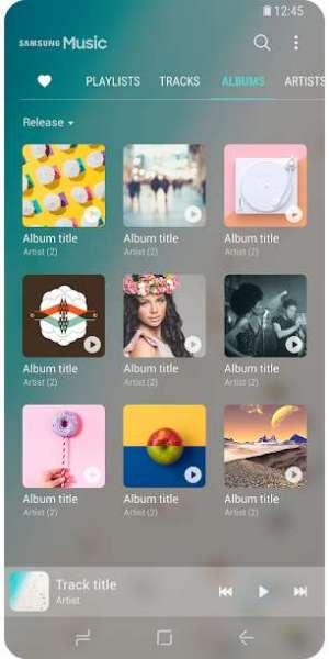 دانلود Samsung Music 16.2.23.12 موزیک پلیر سامسونگ اندروید + Sound picker
