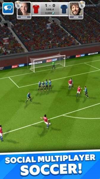 دانلود Score! Match 2.01 بازی فوق العاده فوتبال بزن تو گل اندروید