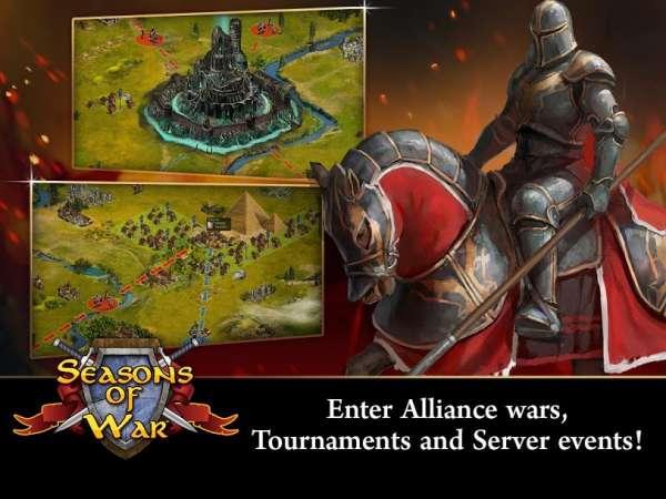 دانلود Seasons of War 8.0.19 بازی فصل های جنگ اندروید + دیتا