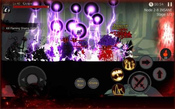 دانلود Shadow of Death: Dark Knight 1.73.0.0 بازی فوق العاده سایه مرگ: شوالیه تاریکی اندروید + مود + دیتا