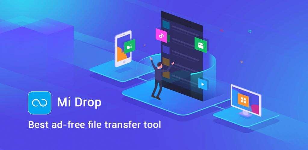 دانلود Share Music & File Transfer – Mi Drop 1.28.10 برنامه اشتراک گذاری فایل شیائومی اندروید