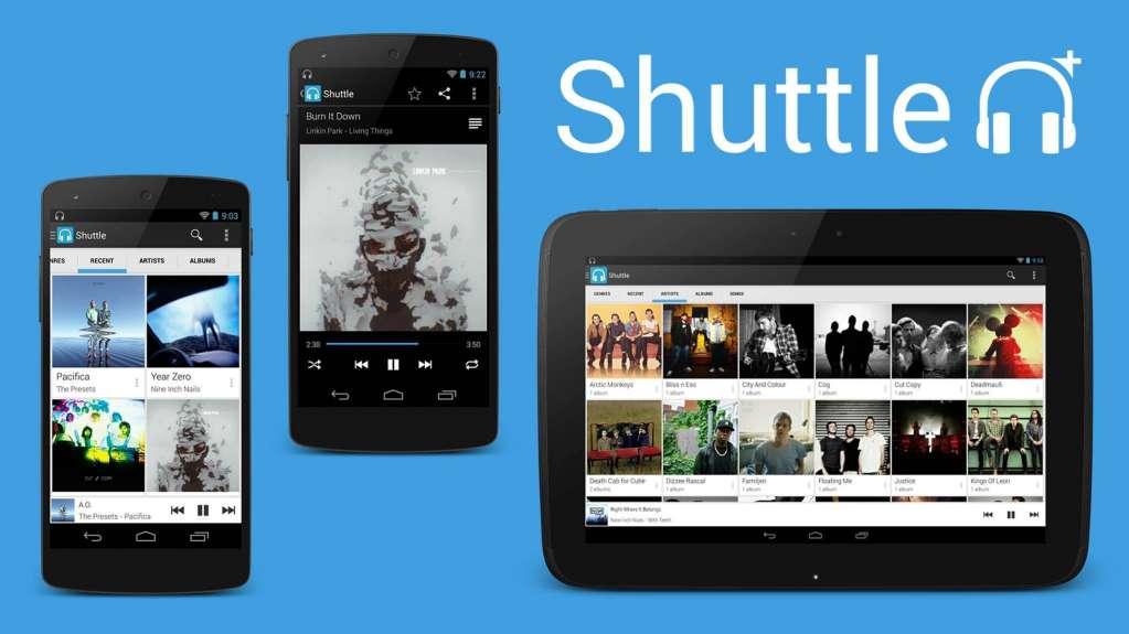دانلود Shuttle Music Player 2.0.13-1 موزیک پلیر شاتل اندروید