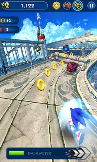 دانلود Sonic Dash Go 4.21.0 بازی معروف سونیک اندروید + مود