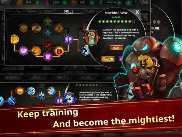 دانلود Stickman Legends – Ninja Warriors: Shadow War 2.5.1 بازی افسانه های استیکمن اندروید