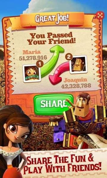 دانلود Book of Life Sugar Smash 3.103.203 بازی سر و صدای آب نبات ها اندروید + مود