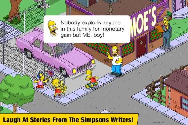 دانلود The Simpsons: Tapped Out 4.45.0 بازی سیمپسون ها + مود برای اندروید