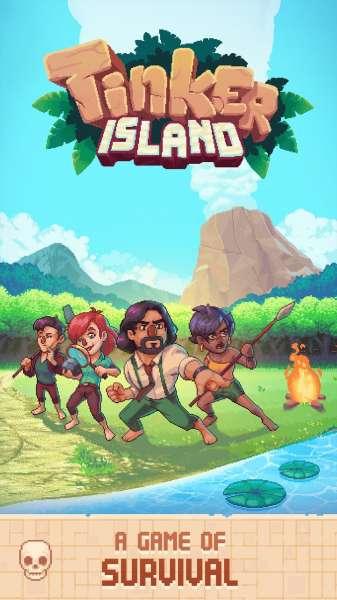 دانلود Tinker Island 1.8.17 بازی زیبای بازسازی جزیره اندروید + مود