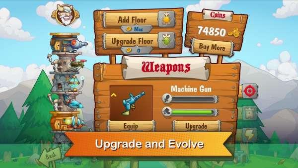 دانلود Tower Crush 1.1.43 بازی شکستن برج های اندروید + مود