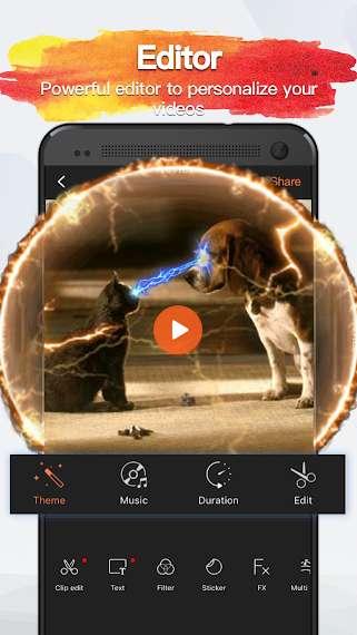 دانلود VivaVideo Pro: Video Editor 6.0.4+6600048 برنامه فیلمبراری و ویرایش فیلم اندروید