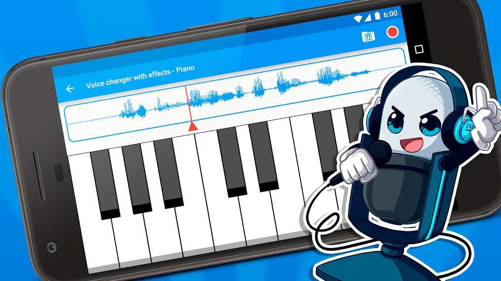 دانلود Voice changer with effects Premium 3.5.7 برنامه تغییر دادن صدا اندروید