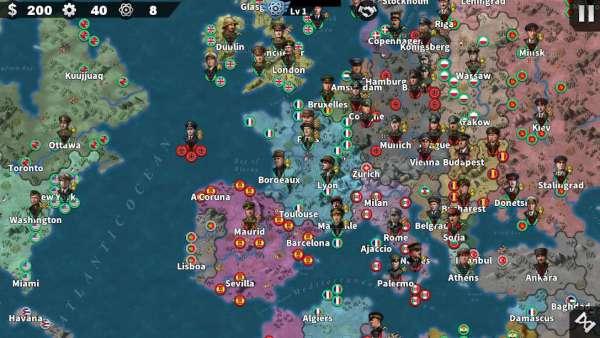 دانلود World Conqueror 4 1.2.44 بازی اندروید فاتح جهان 4