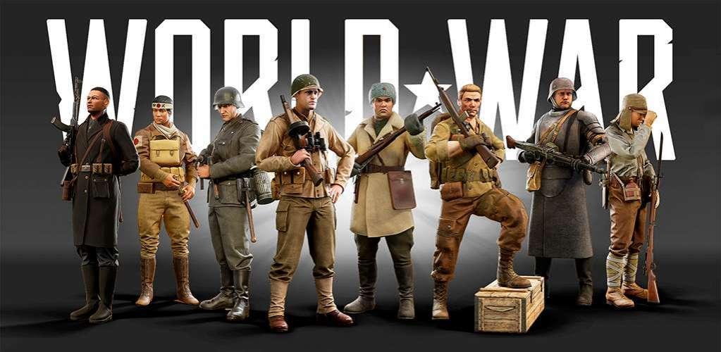 دانلود World War Heroes 1.11.5 بازی اکشن قهرمانان جنگ جهانی اندروید  + دیتا