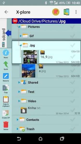 دانلود X-plore File Manager 4.27.32 برنامه فایل منیجر عالی اندروید