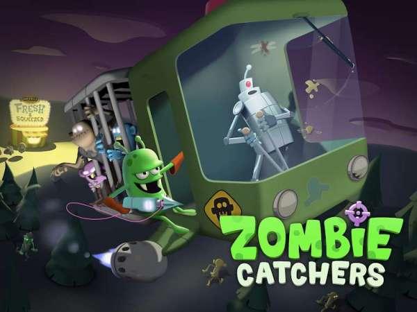 دانلود Zombie Catchers 1.30.15 بازی متفاوت گرفتن زامبی ها اندروید  + مود