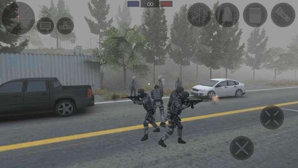 دانلود Zombie Combat Simulator 1.3.7 بازی شبیه ساز نبرد با زامبی های اندروید + مود + دیتا