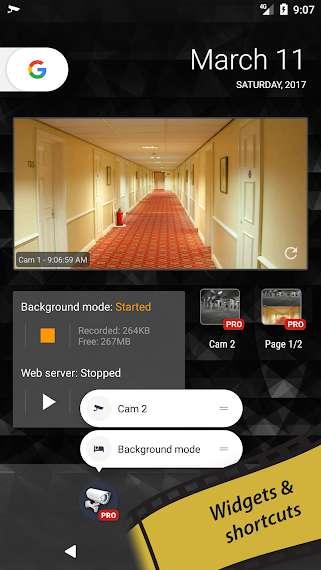 دانلود tinyCam Monitor PRO 14.6 برنامه مشاهده و مدیریت دوربین های مدار بسته اندروید